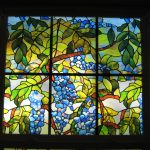 : Window Film Stained Glass with window clings for home with peel and stick stained glass with glass covering film