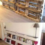 : Wood pallet shelves and also diy pallet rack and also furniture built with pallets and also small pallet furniture