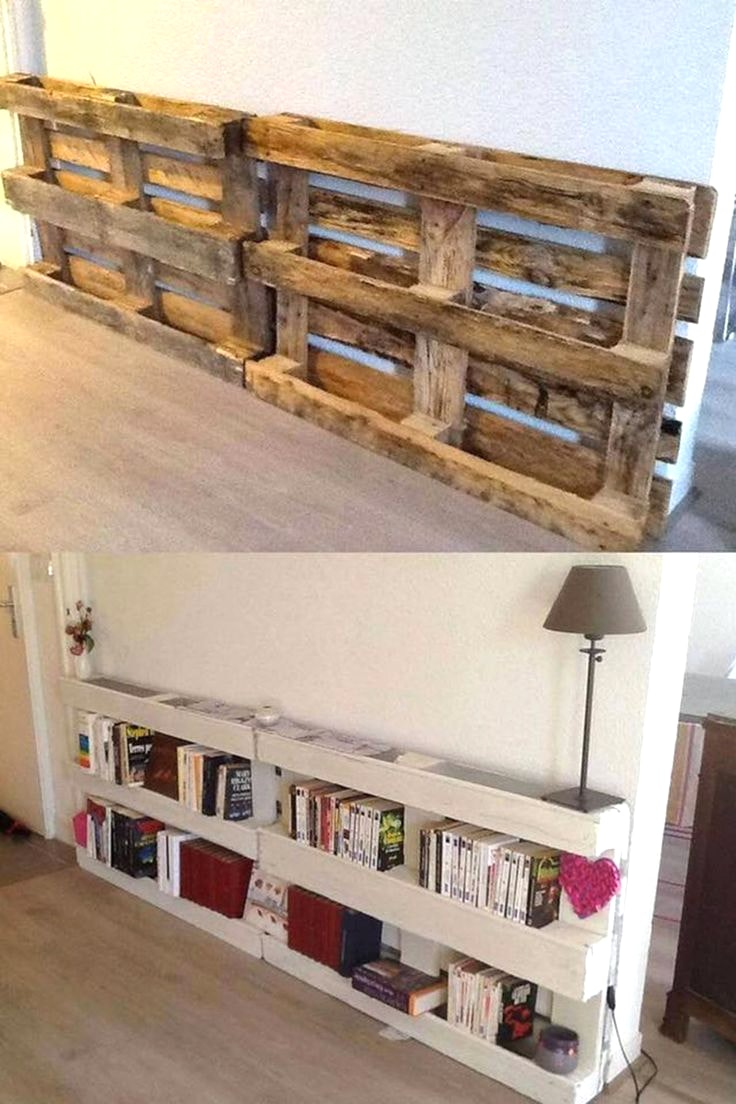 Wood pallet shelves and also diy pallet rack and also furniture built with pallets and also small pallet furniture