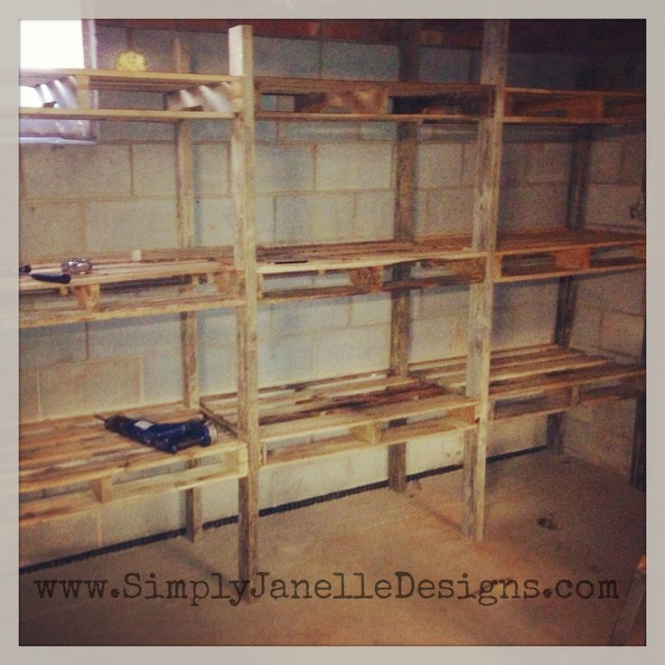 Wood Pallet Shelves And Also Where Can I Get Wood Pallets