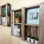 : Wood pallet shelves and also pallet storage ideas and also pallet wood bookshelf and also recycled pallet furniture