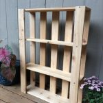 : Wood pallet shelves and also rustic wood ledge shelf and also wooden pallet garden ideas and also pictures of pallet furniture