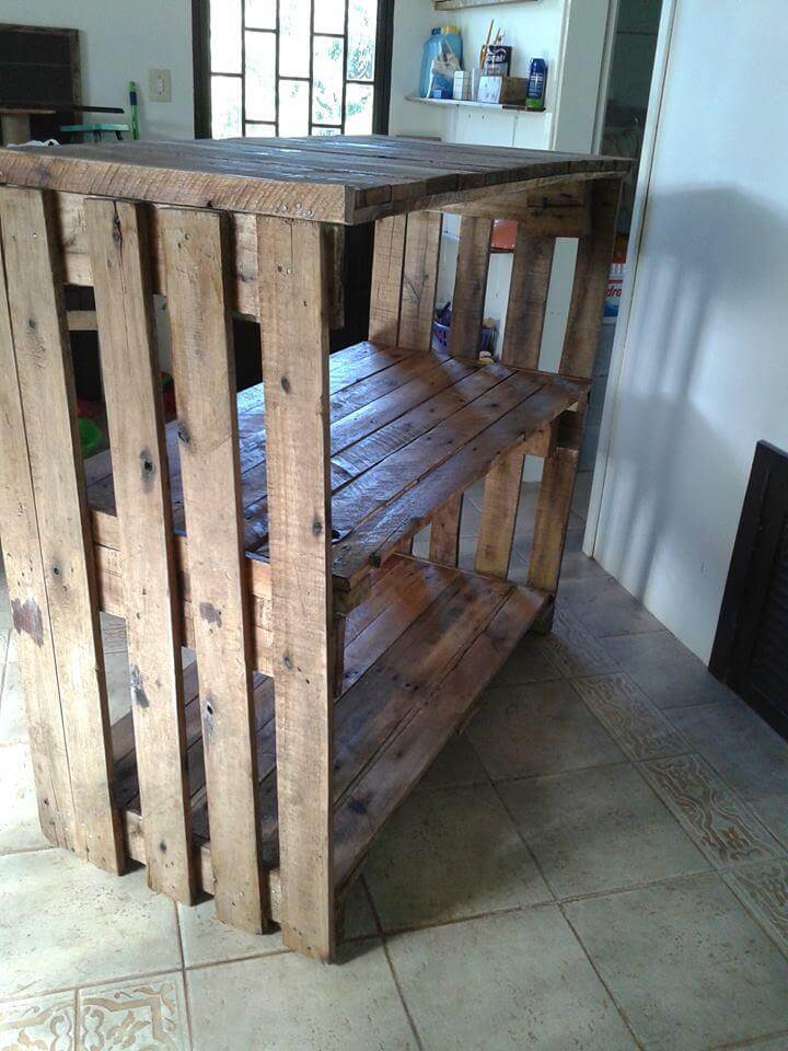 Wood pallet shelves and also small pallet ideas and also recycled pallet ideas and also things to make with wooden pallets