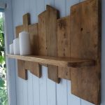 : Wood pallet shelves and also wood shelf ideas and also pallet furniture bench and also unique pallet furniture