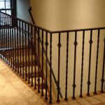 : Wrought iron railings also balcony railing also rod iron handrails also wrought iron balcony
