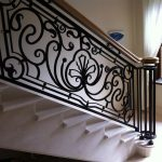 : Wrought iron railings also chain link gate also ornamental iron railings also wrought iron balusters