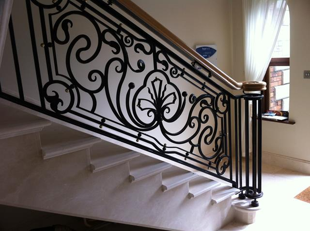 Wrought iron railings also chain link gate also ornamental iron railings also wrought iron balusters