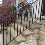 : Wrought iron railings also exterior iron railings also custom iron railings also iron railing design