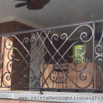 : Wrought iron railings also iron deck railing also fence for sale also wrought iron stair railings interior