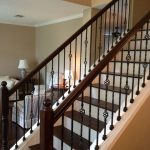 : Wrought iron railings also iron gate also driveway gates also wrought iron stair railing