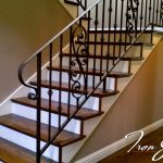 : Wrought iron railings also metal driveway gates also gates and fences also wrought iron deck railing