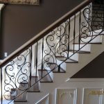 : Wrought iron railings also metal railings also wrought iron fence also wrought iron handrail
