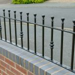 : Wrought iron railings also steel garden gates also wrought iron fence gate also indoor railings also wall railings