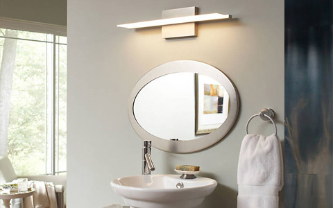 Affordable Modern Bathroom Lighting