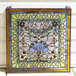 : antique stained glass window sash suitable with antique stained glass windows