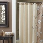 : bathroom shower curtain decorating ideas