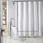 : bathroom shower curtains and matching accessories