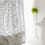 : bathroom shower curtains and mats