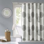 : bathroom shower curtains and rugs