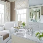: bathroom window dressing ideas