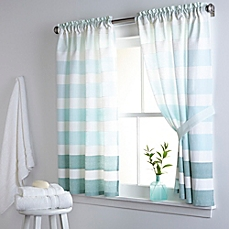 bathroom window treatments apartment therapy suitable with bathroom window curtains with attached valance suitable with bathroom window curtains black and white