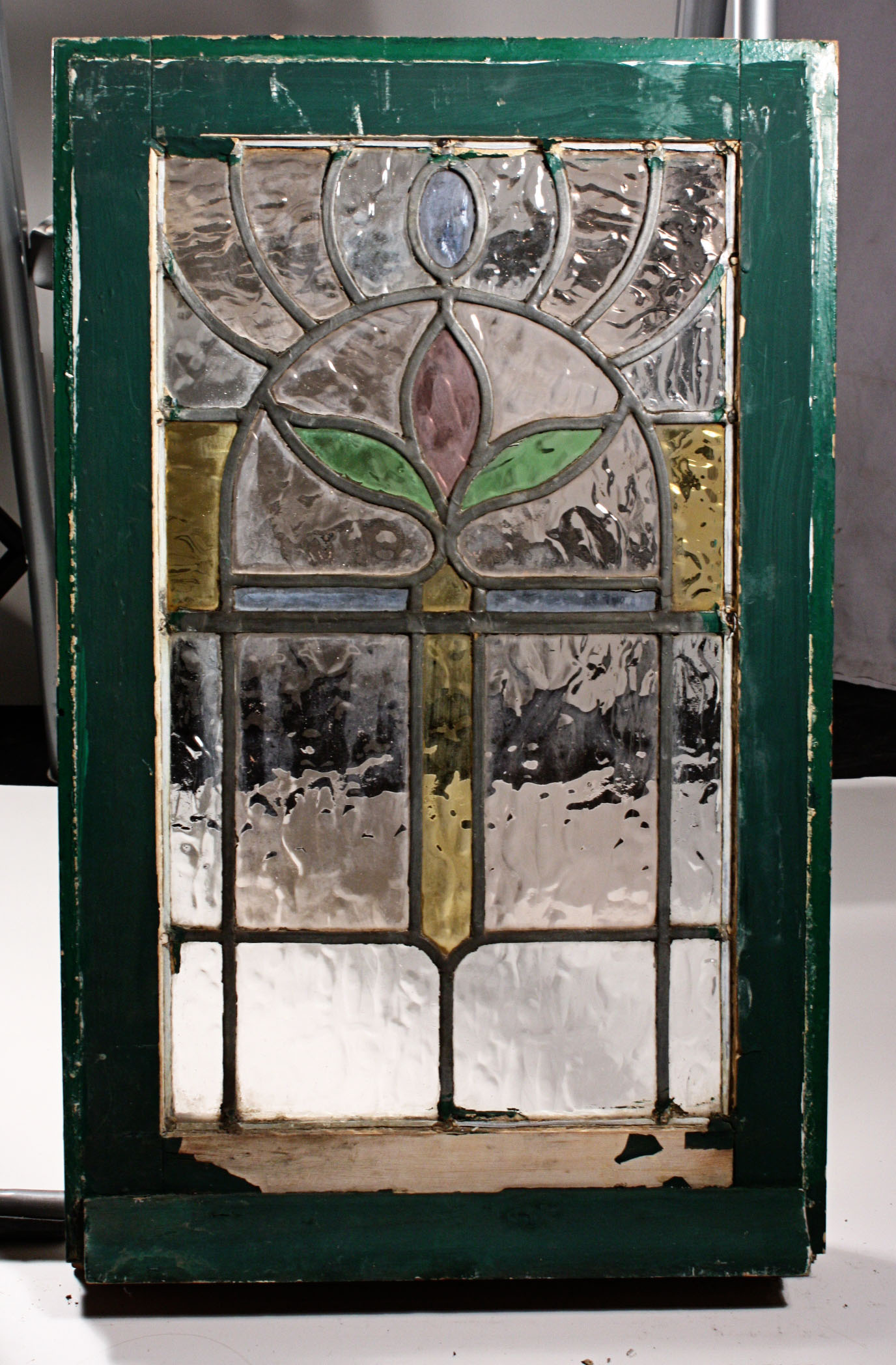 best how to evaluate antique stained glass windows