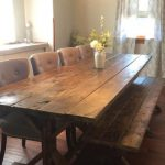 : build farmhouse dining room table suitable with farmhouse dining room table chairs