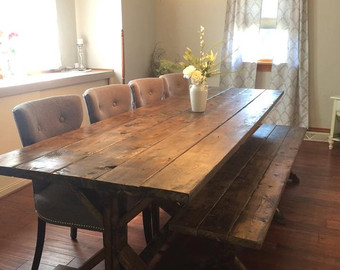 build farmhouse dining room table suitable with farmhouse dining room table chairs
