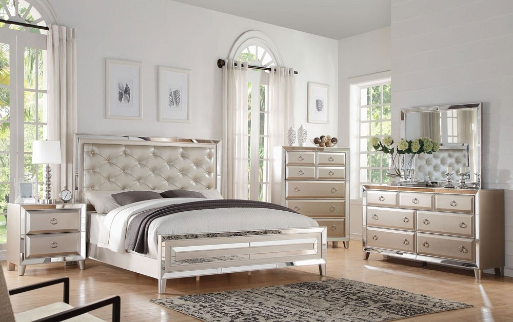 buy mirrored bedroom furniture suitable with bronze mirrored ...