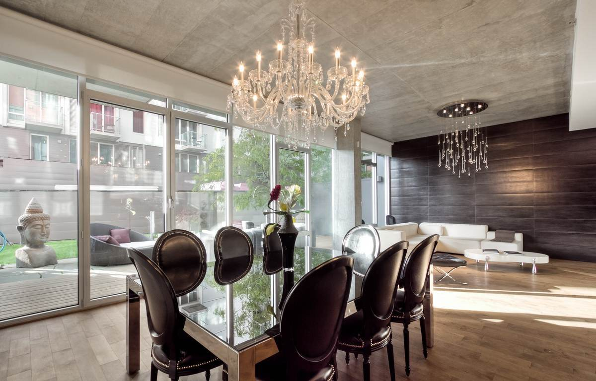 Good Crystal Chandelier Dining Room Inspiration Home Magazine
