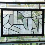 : christmas stained glass window hangings