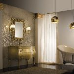 : classic contemporary bathroom design
