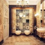 : classic white bathroom designs