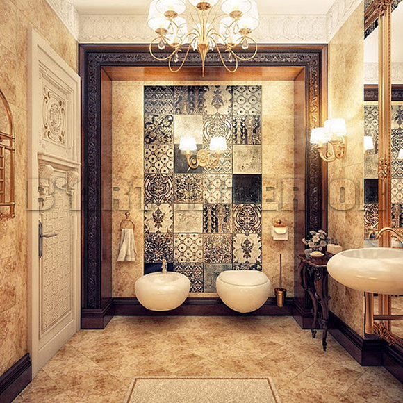 classic white bathroom designs