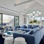 : coastal living room with leather sofa suitable with coastal wall art for living room suitable with coastal living wedding ideas