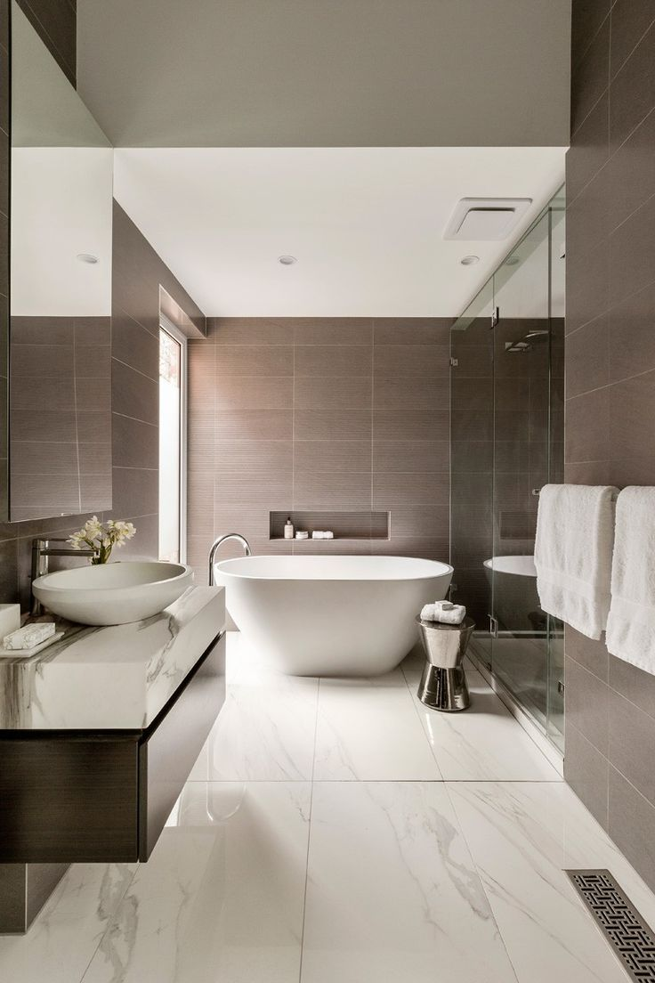 Contemporary Accessible Bathrooms Suitable With Contemporary Asian - Modern-bathroom-design