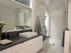 contemporary bathroom backsplash suitable with contemporary bathroom bar lighting