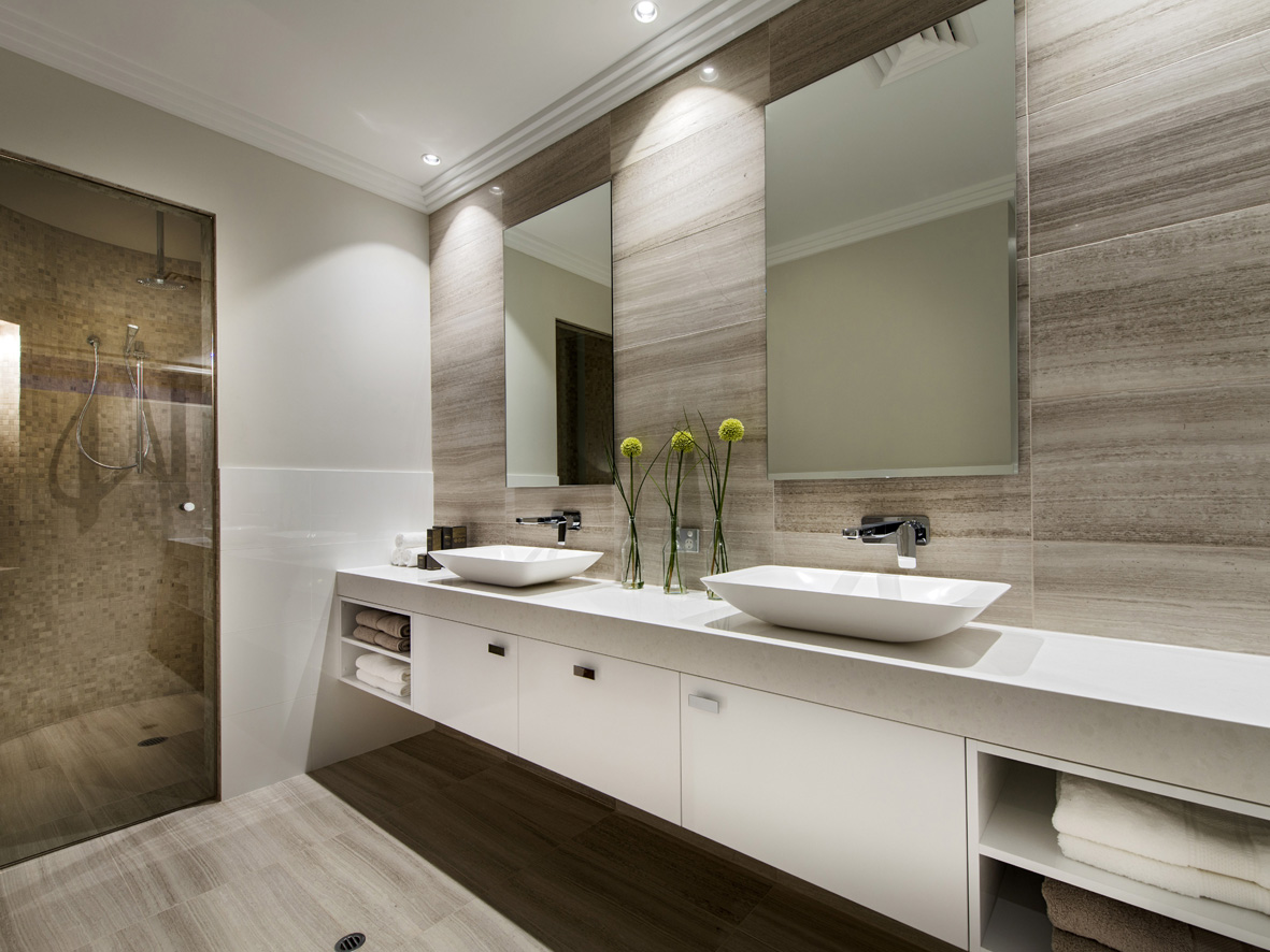 Contemporary Bathrooms On A Budget Suitable With Contemporary