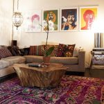 : cosy bohemian living room suitable with bohemian country living room suitable with mid century bohemian living room