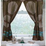 : cream bathroom window curtains suitable with cotton bathroom window curtains suitable with chevron bathroom window curtains