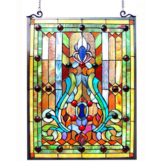 custom stained glass window hangings