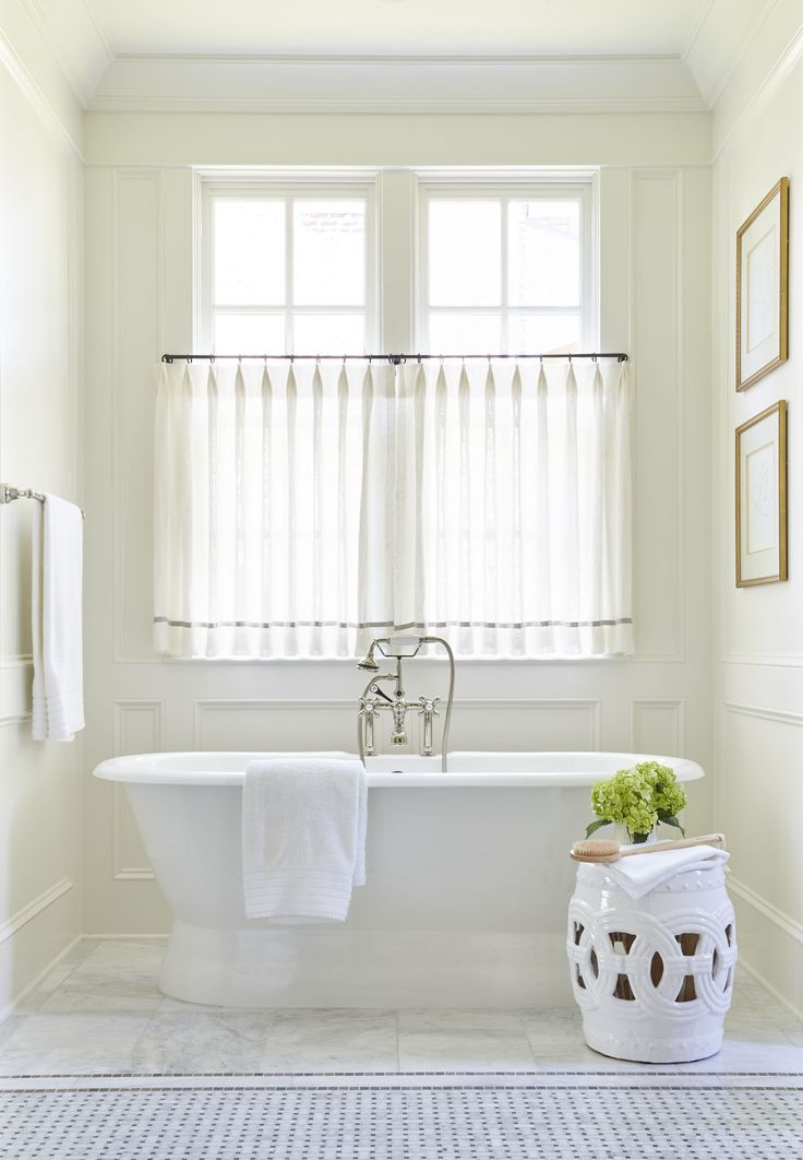 Good Tips for Bathroom Window Curtains