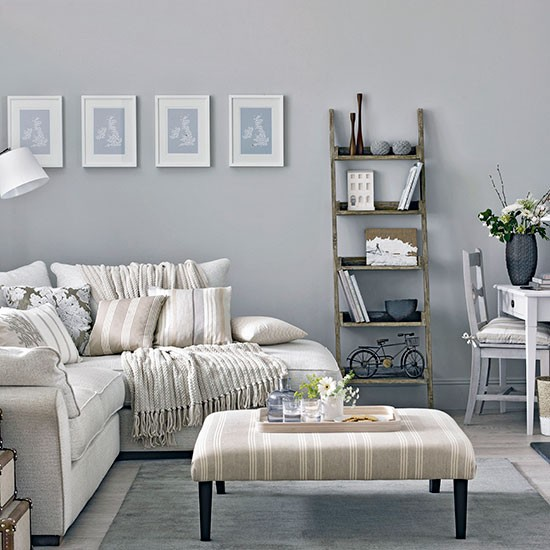 Good Grey Country Living Room