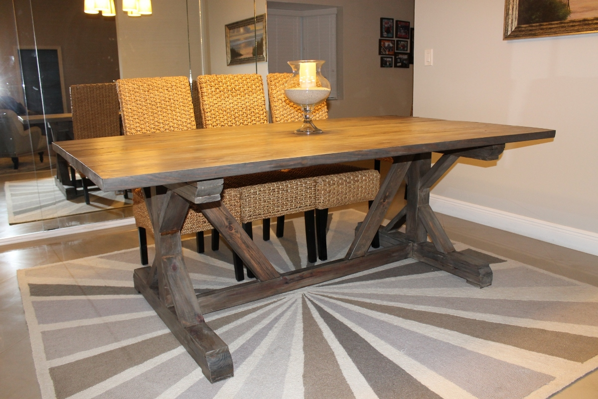 farmhouse chic dining room table suitable with farmhouse dining room table diy
