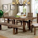 : farmhouse dining room table decor suitable with farmhouse dining room table with bench