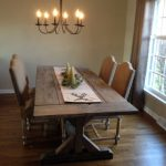 : farmhouse dining room table designs suitable with distressed farmhouse dining room table