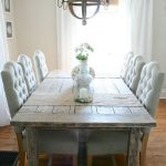 : farmhouse dining room table legs suitable with farmhouse dining room table light
