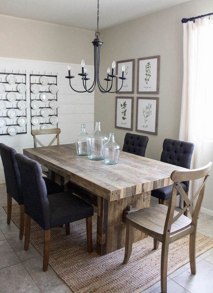 Farmhouse Dining Room Table Plans Suitable With Farmhouse Dining Room Table And Chairs Good Farmhouse Dining Room Table Inspiration Home Magazine
