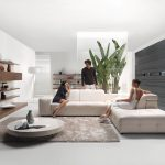 : harper fabric modular living room furniture collection with sets & pieces