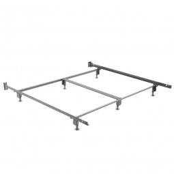 heavy duty metal bed frame king suitable with sleep master deluxe platform metal bed frame king